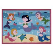 39 x 58 inch Mermaids Fun Rug