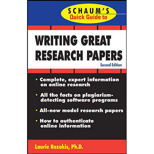 Help Writing A Research Paper Thesis