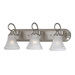 Thomas Lighting SL7443 Brushed Nickel Elipse Bathroom Lighting offers